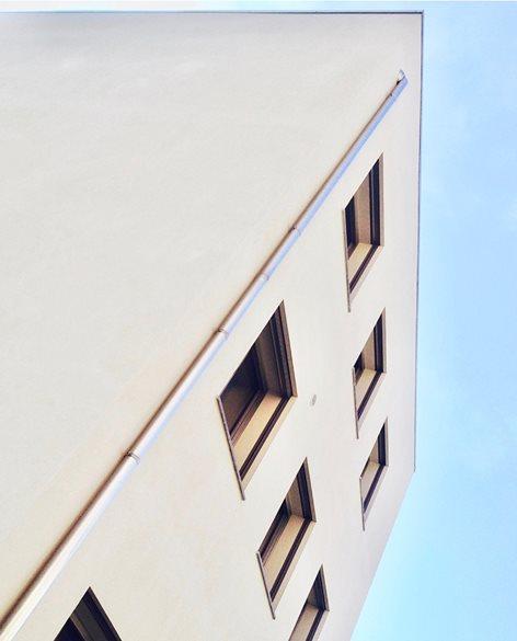 Edificio residenziale bioclimatico