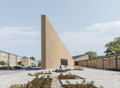 New library and culture house in Tingbjerg