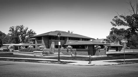 DARWIN D MARTIN HOUSE: FRANK LLOYD WRIGHT ARCHITECT
