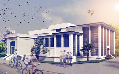 CONCURSO de ideas para la REHABILITACIÓN del antiguo ALMACÉN 5 de la fàbrica de cemento de LAFARGE en Villaluenga de la Sagra (Toledo)
