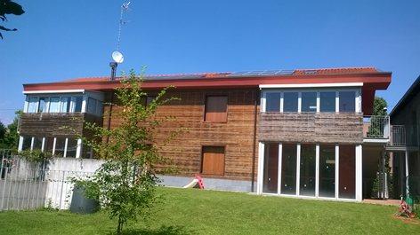 Edificio in classe A con serre bioclimatiche