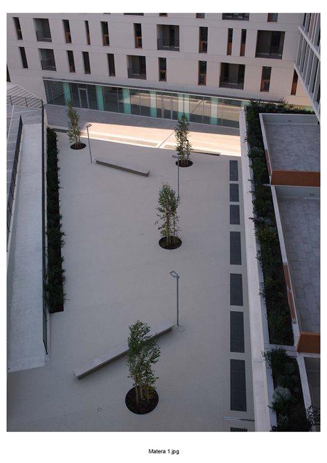 Complesso residenziale e commerciale in via Dante a Matera