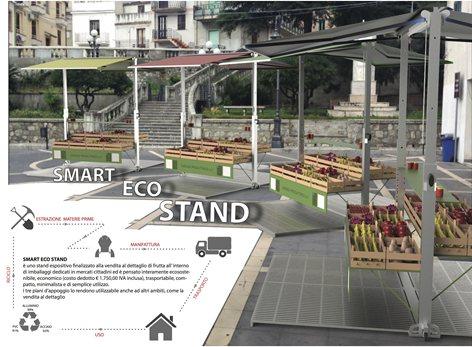 Concorso di idee per la progettazione di stand espositivi eco-compatibili per il mercato contadino di Bagaladi