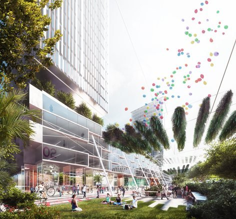 Master plan for the transformation of Milan's former 2015 World Expo site