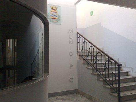 Ingresso della sede municipale