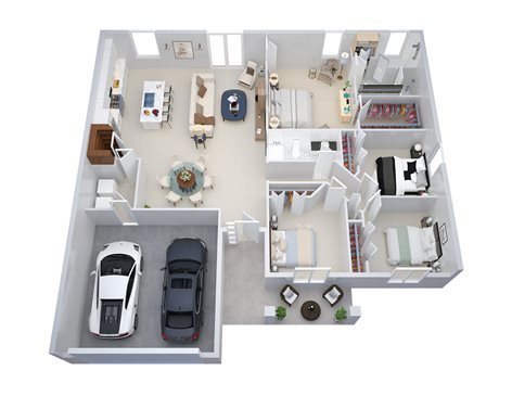 2D 3D Floor Plans | The 2D3D Floor Plan