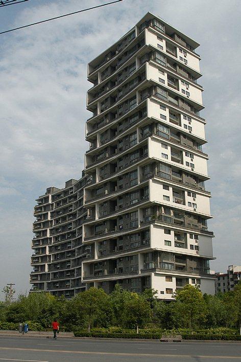 Vertical Courtyard Apartments Wang Shu