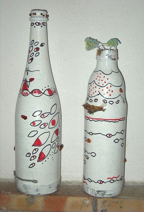 Riciclo di qualità : Le Bottiglie Decorate