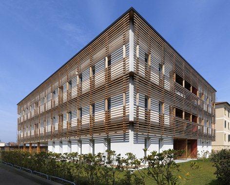 Prefab Social Housing in Treviso