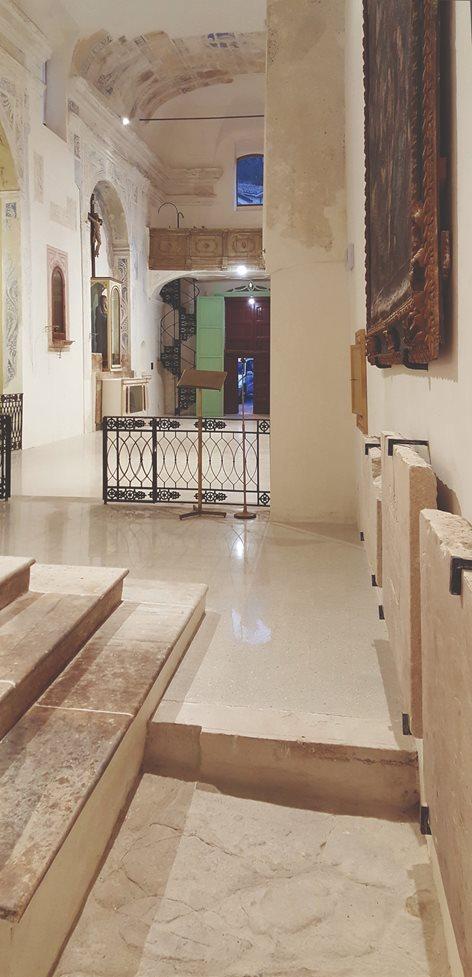 Restauro e riqualificazione spaziale della chiesa di San Biagio a Cammarata (Agrigento)