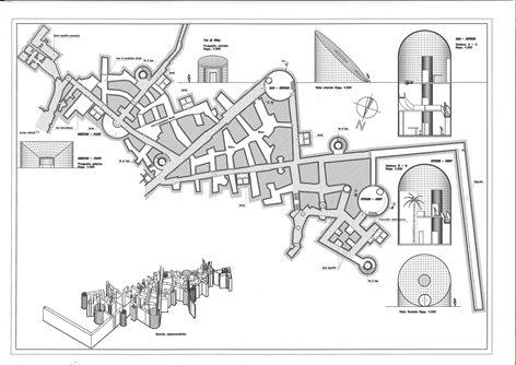 """""""Progetto di valorizzazione dei rifugi bellici di Colleferro""""  Provincia di Roma 2004 di Alberto Giampaoli e Paolo Fracasso"""