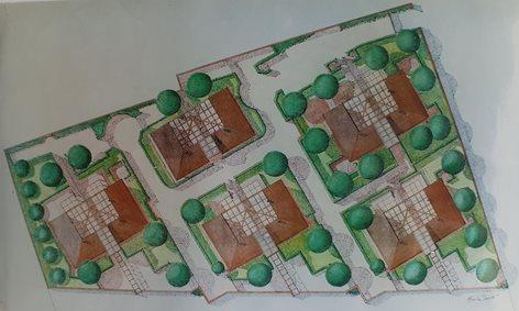 Nuclei di edilizia residenziale a Saline di Ostia