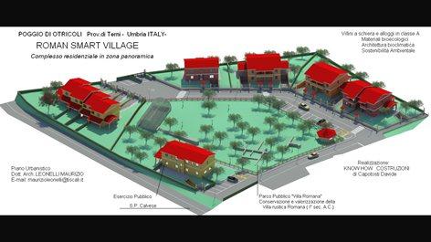 Nuovo complesso Residenziale  con Parco Villa Romana
