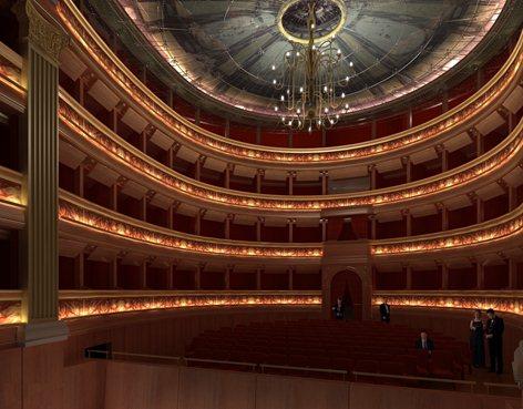 Ristrutturazione del teatro Romualdo Marenco
