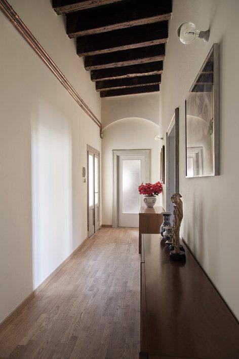 Progetto di riqualificazione interna di un immobile in centro storico a Verona