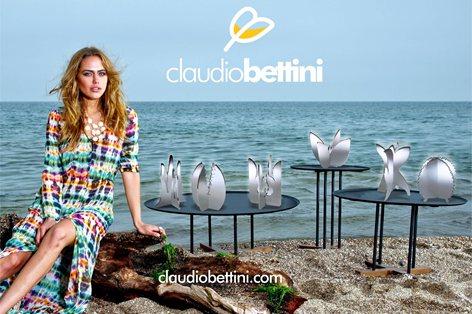 Claudio Bettini. Oggetti design complementi arredo.