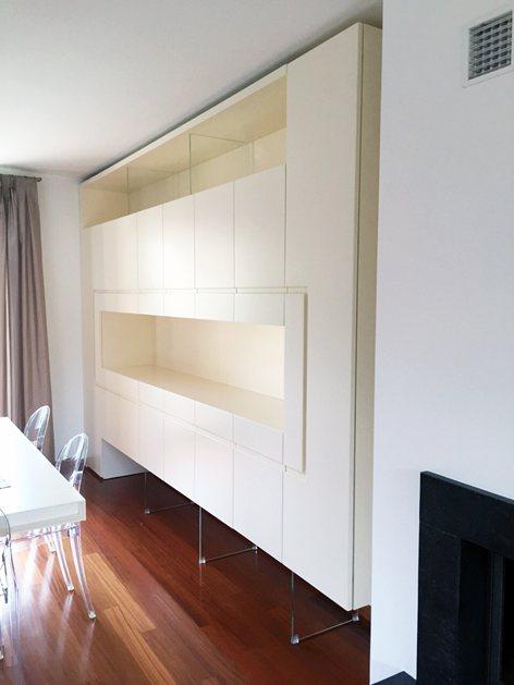 Soggiorni Moderni Ancona.Soggiorno Moderno Total White Arredamenti Ancona S R L