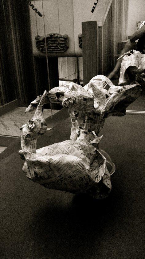 scultura cartapesta