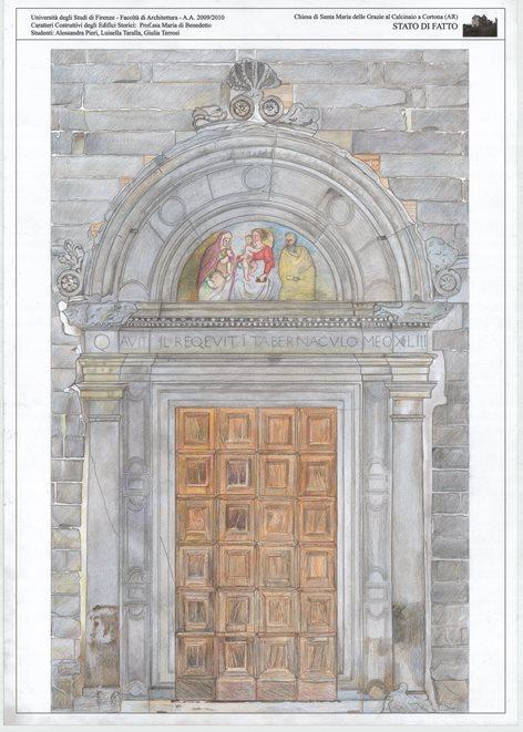 La Chiesa del Calcinaio di Cortona