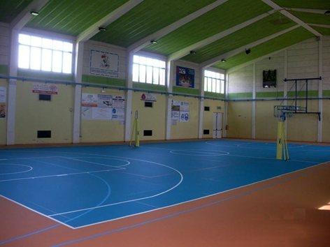 Pavimentazione sportiva linoleum per palazzetto