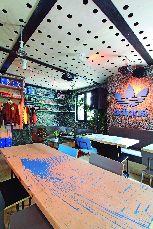 Cívico Mínimo Palabra  Adidas Originals Pop-Up Store | Tavares Duayer arquitetura