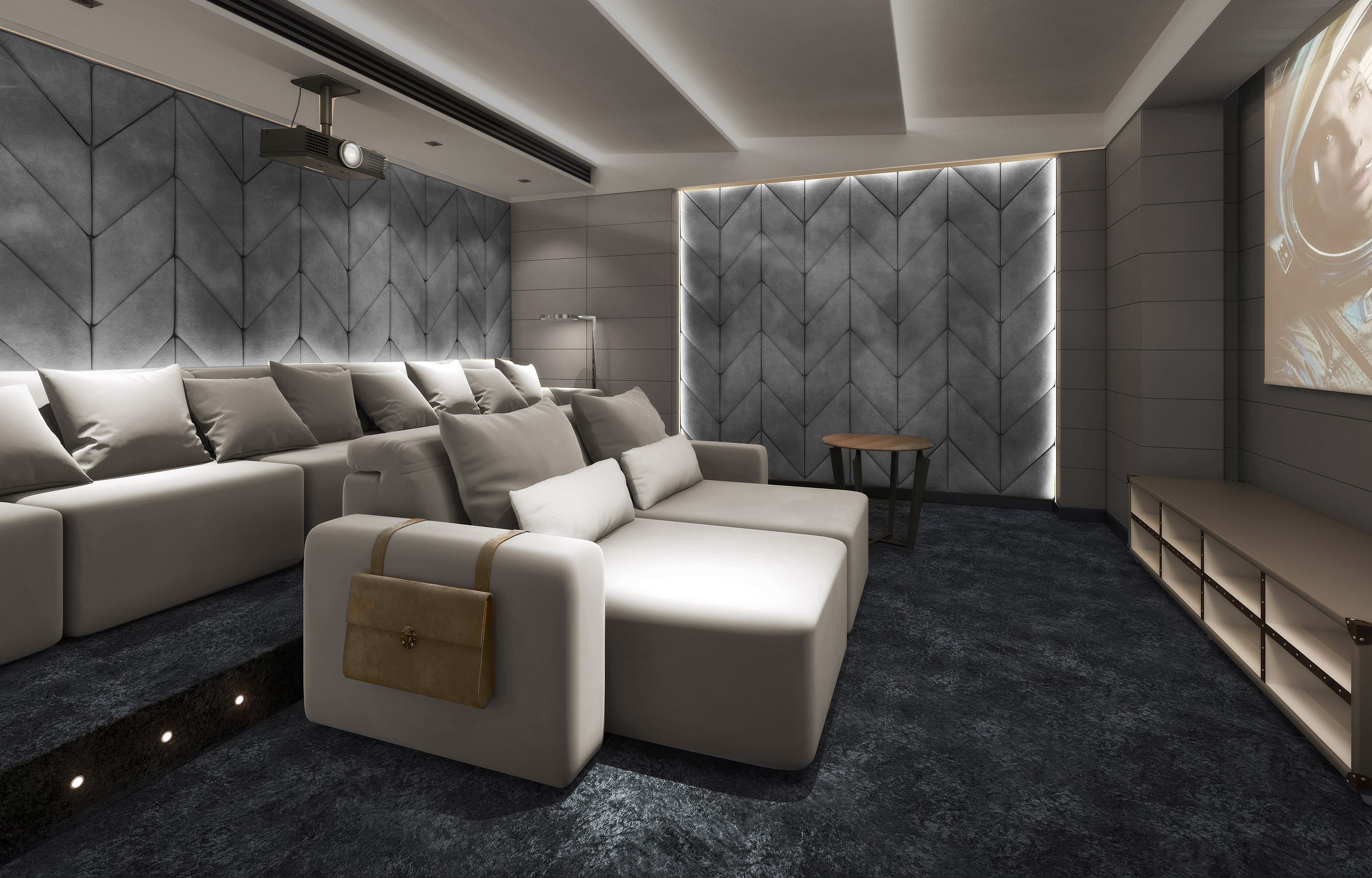 New Home Theatre Seating