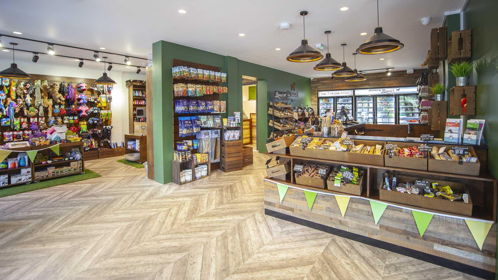 Brown's Natural Pet Store | Liqui Group
