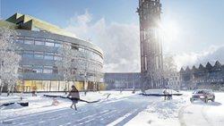 Kiruna's new City Hall – The Crystal
