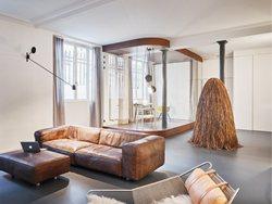 Glass & Walnut Loft