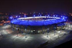 Reconstruction of the Metalist stadium