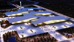 New trade fair building