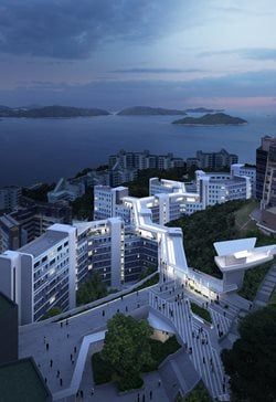 Student Residence Development at the Hong Kong University of Science and Technology (HKUST)