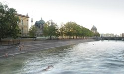 Flussbad
