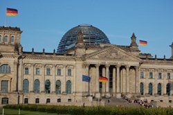 The Plenary Building in the Converted Reichstag