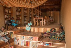 Library for the community of Muyinga