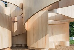 Serpentine Summer House 2016 designed by Barkow Leibinger