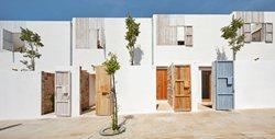 Life Reusing Posidonia/ 14 social dwellings in Sant Ferran, Formentera