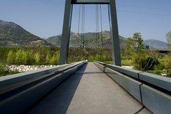 Ponte ciclopedonale sul Fiume Serio