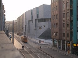 The new faculty building at Bocconi University