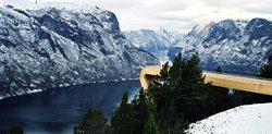 Stegastein, Aurland Lookout - National Tourist Routes in Norway