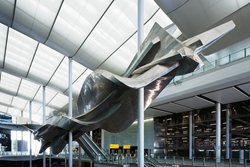 Terminal 2A at Heathrow Airport