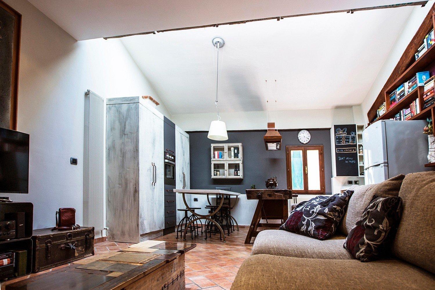 Arredamento Shabby Toscana industrial style interior design - shabby chic - vintage old