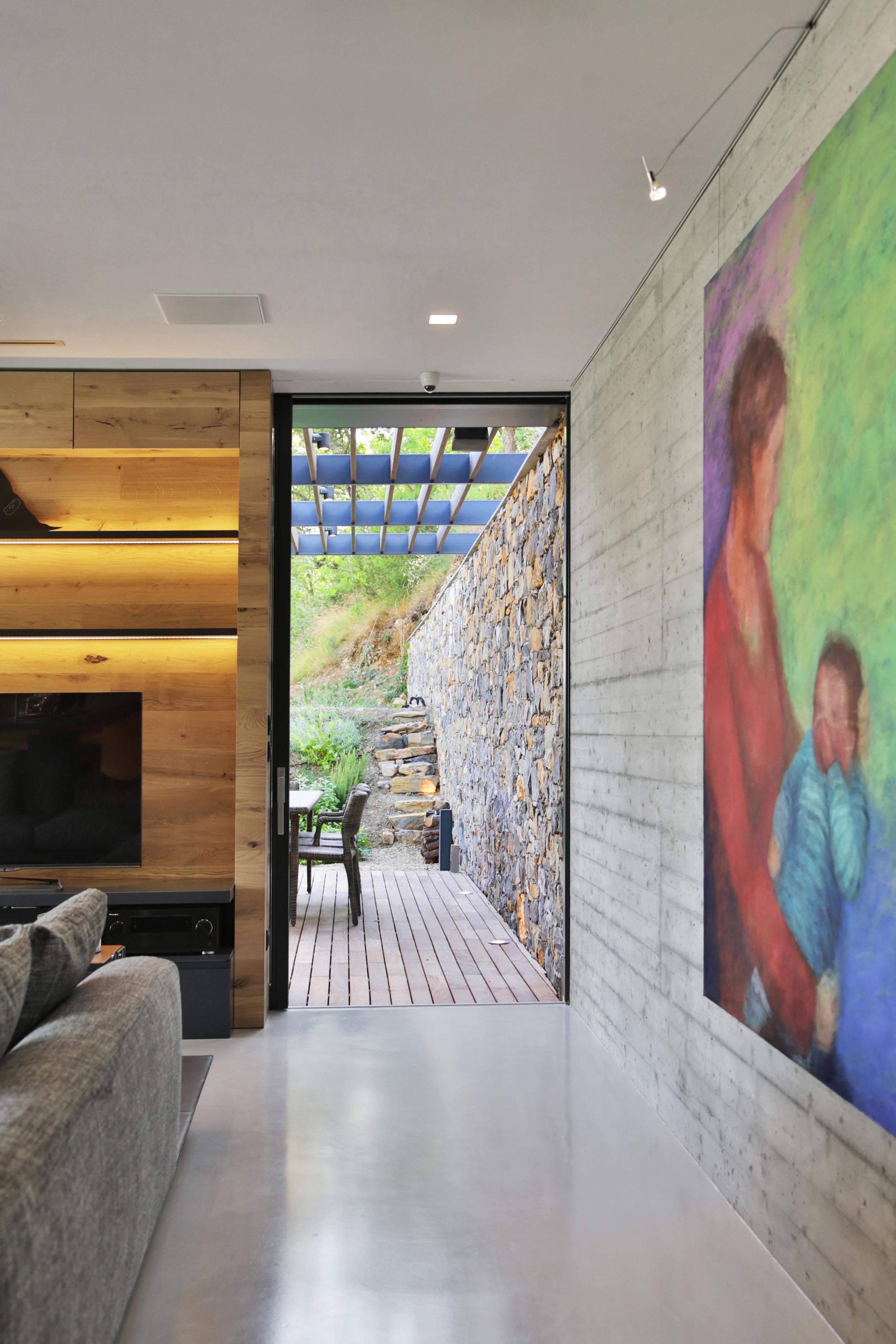Mensole In Cartongesso Ad Angolo villa nemes | giordano hadamik architects