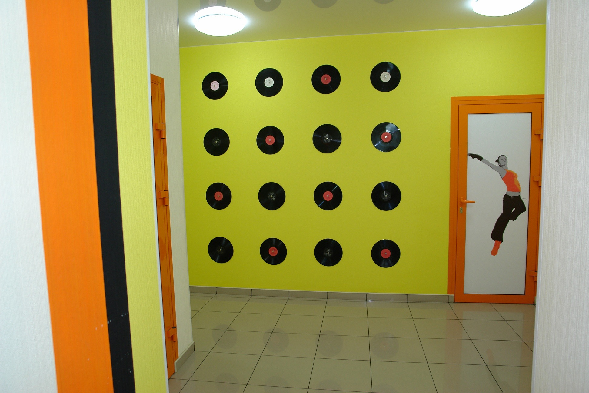 Dance Studio Interior Anna Maznetcova