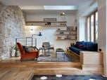 A Family 3 storey House in Paris