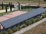 Impianto Fotovoltaico su campo da tennis