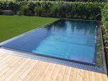 piscina privata in acciaio inox
