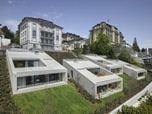 Urban villas on lake Lucerne