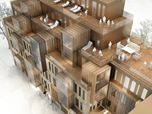 New Apartment building in UNESCO World heritage site In Riga - competition proposal