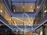 Rehabilitation Clinic Bellikon (SUVA) Switzerland. Light sculptures by Nicolas Manzi